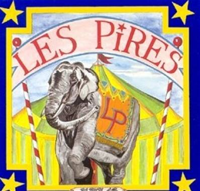 *CD.* LES PIRES - 1ER ALBUM (1992) (ROCK FRANCAIS)