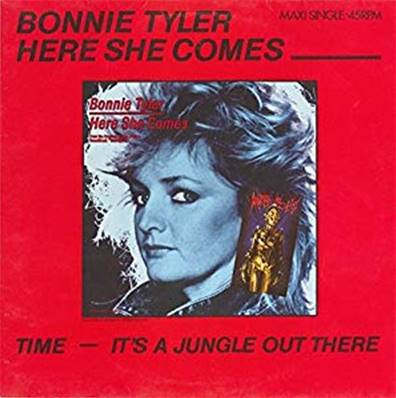 *VINYLE-MAXI.* BONNIE TYLER - HERE SHE COMES