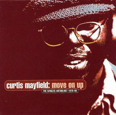 *CD.* CURTIS MAYFIELD - MOVE ON UP (THE SINGLES ANTHOLOGY 1970-1990) (2 CD)