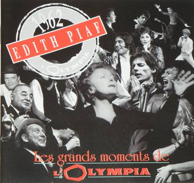 EDITH PIAF - LES PLUS GRANDS MOMENTS DE L'OLYMPIA (1962)