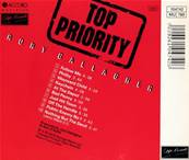 GALLAGHER - TOP PRIORITY (ALBUM 1979)