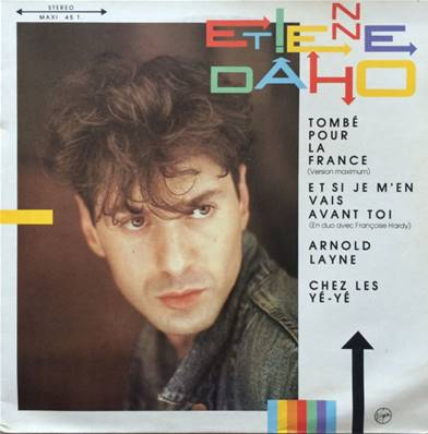 ETIENNE DAHO - TOMBE POUR LA FRANCE (VERSION MAXI) (1985)