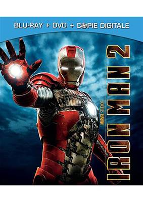 *Blu-Ray* IRON MAN 2 (2010) (COMBO BLU-RAY+ DVD) (SCIENCE-FICTION) (MARVEL)