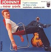 JOHNNY HALLYDAY - JOHNNY A NEW YORK /I GOT A WOMAN (4-TRACK LTD ED REISSUE)