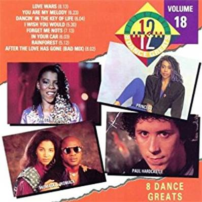 THE BEST OF 12 GOLD - 8 DANCE GREATS (VOLUME 18)