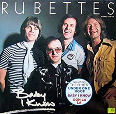 THE RUBETTES - BABY I KNOW (ALBUM 1977)