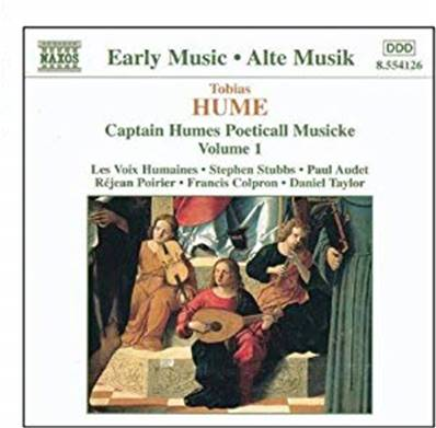 *CD.* HUME - CAPTAIN HUMES POETICALL MUSICKE (CLASSIQUE)