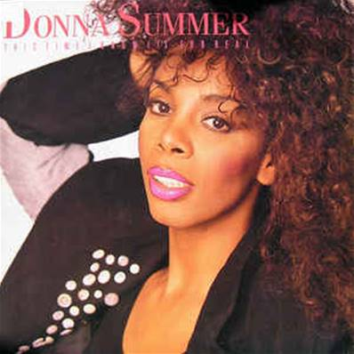 *VINYLE-MAXI.* DONNA SUMMER - THIS TIME I KNOW IT'S FOR REAL