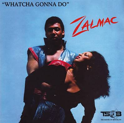 *CD* ZALMAC - WHATCHA GONNA DO (ALBUM 1982) (SOUL) (FUNK)