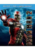 *Blu-Ray.* IRON MAN 2 (2010) (COMBO BLU-RAY+ DVD) (SCIENCE-FICTION) (MARVEL)