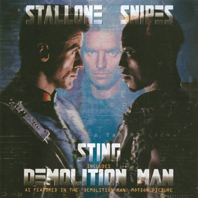 *CD* STING - DEMOLITION MAN (1993) (CD 6 TITRES)