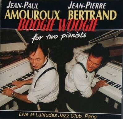 *CD.* JEAN-PAUL AMOUROUX & J.P. BERTRAND - BOOGIE WOOGIE FOR TWO PIANISTS (JAZZ)