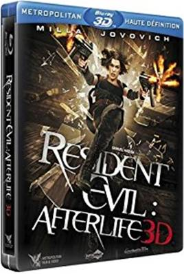 RESIDENT EVIL AFTERLIFE 3D (BLU-RAY 3D) (EDITION BOITIER STEELBOOK)