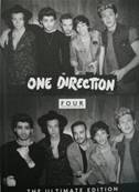ONE DIRECTION - FOUR (EDITION DELUXE COLLECTOR CD+LIVRE) (ALBUM 2014) (MUSIQUE)