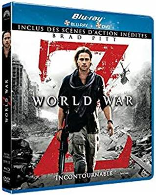 *Blu-Ray.* WORLD WAR Z -COMBO BLU-RAY/DVD (VERSION LONGUE INEDITE)