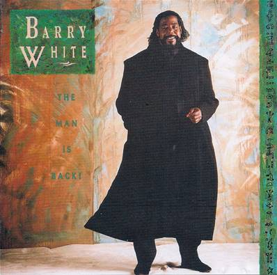 *CD* BARRY WHITE - THE MAN IS BACK
