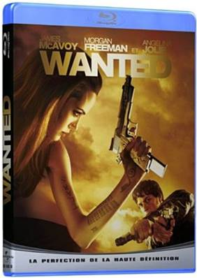*Blu-Ray.* WANTED (2008) (ACTION) (AVEC ANGELINA JOLIE ET MORGAN FREEMAN)
