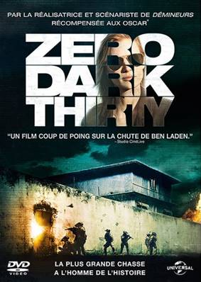 *DVD.* ZERO DARK THIRTY (2013) (AVEC JESSICA CHASTAIN ET JASON CLARKE) (THRILLER)