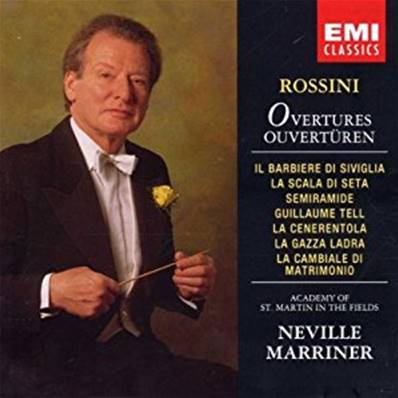 ROSSINI - OUVERTURES /SINFONIE (NEVILLE MARRINER) (OPERA)