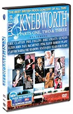 *DVD* LIVE AT KNEBWORTH : PART ONE/TWO & THREE