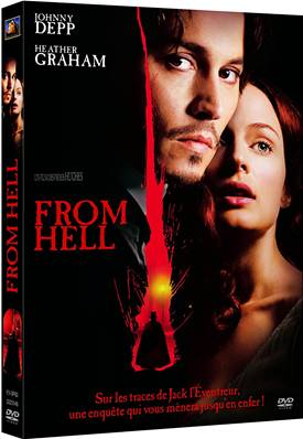 FROM HELL (2001) (HORREUR) (JOHNNY DEPP)