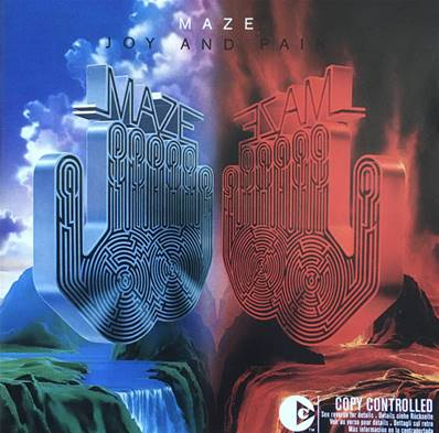 *CD.* MAZE - JOY AND PAIN (ALBUM 1980) (EDITION 2004 REMASTERISEE)(SOUL/FUNK)