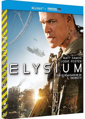 *Blu-Ray* ELYSIUM - BLU-RAY+ COPIE DIGITALE