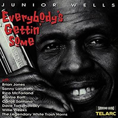 JUNIOR WELLS - EVERYBODY S GETTIN SOME (BLUES)
