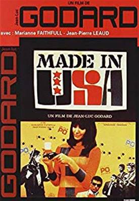 MADE IN USA (UN FILM DE JEAN-LUC GODARD) (AVEC MARIANNE FAITHFULL)