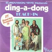 EUROVISION 1975 NL : TEACH-IN - DING A DONG (V.ANGLAISE)