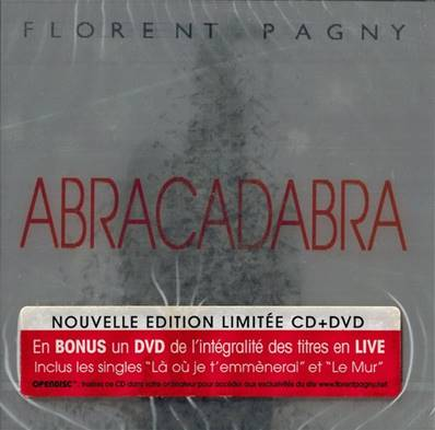 *CD* FLORENT PAGNY - ABRACADABRA (EDITION LIMITEE) (BOX CD-DVD)