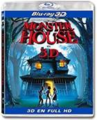 *Blu-Ray.* MONSTER HOUSE - BLU-RAY 3D ACTIVE