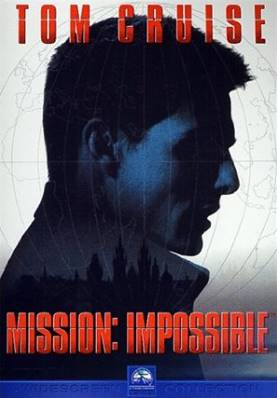 M:I : MISSION IMPOSSIBLE (1996) (THRILLER) (TOM CRUISE) (JEAN RENO)