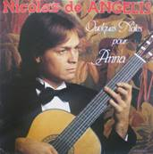 NICOLAS DE ANGELIS - QUELQUES NOTES POUR ANNA (ALBUM ORIGINAL DE 1981)