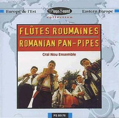 *CD* ENSEMBLE CRAI NOU - FLUTES ROUMAINES (RAMANIA PAN-PIPES) (ALBUM 1996) ROUMANIE