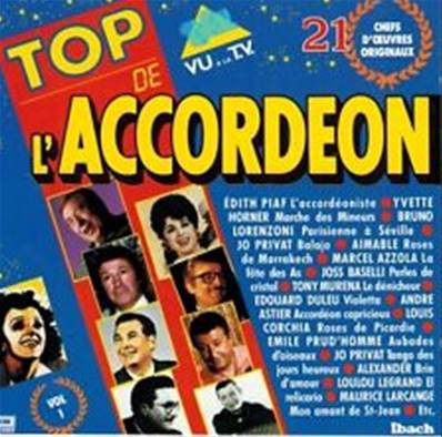 *CD* TOP DE L'ACCORDEON