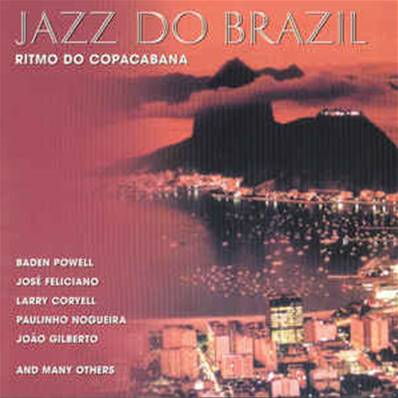 *CD.* JAZZ DO BRAZIL - RITMO DO COPACABANA (COMPILATION 2 CD) (BRESIL)