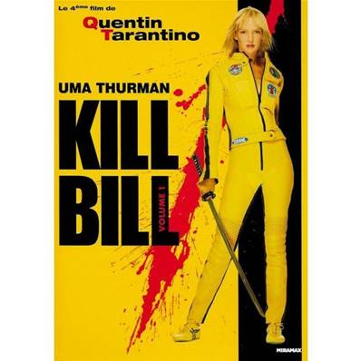 KILL BILL VOL 1 (2003) (ACTION) (UMA THURMAN) (QUENTIN TARANTINO)