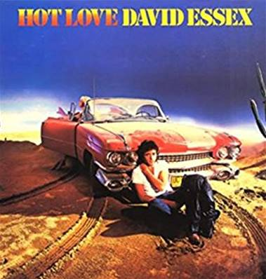 *VINYLE-33T.* DAVID ESSEX - HOT LOVE (ALBUM 1980)