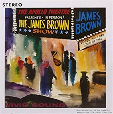 JAMES BROWN - LIVE AT THE APOLLO 62 (SOUL)