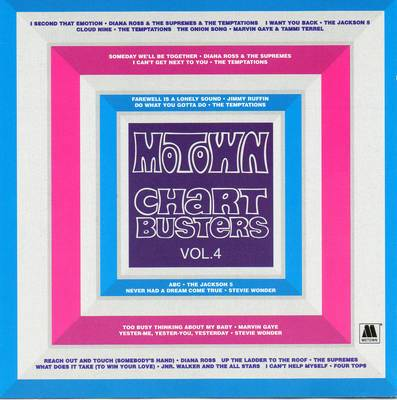 *CD* MOTOWN CHART BUSTERS VOL 4 (COMPILATION) (SOUL)