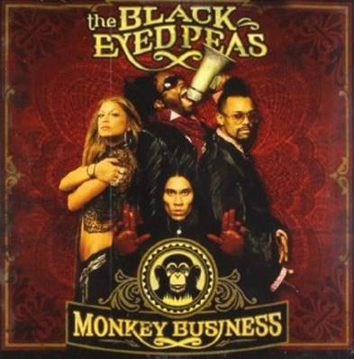 *CD* THE BLACK EYED PEAS - MONKEY BUSINESS
