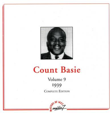 COUNT BASIE - COMPLETE EDITION VOL. 9 - 1939 - DUTCH IMPORT