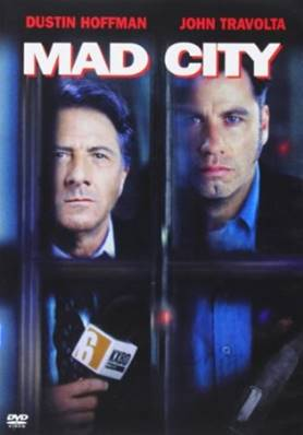 MAD CITY (1997) (THRILLER) (DUSTIN HOFFMAN) (JOHN TRAVOLTA)