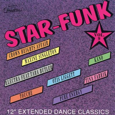 STAR FUNK VOL.9 (MADE IN CANADA) (LABEL UNIDISC) (8 TITRES) (1993)