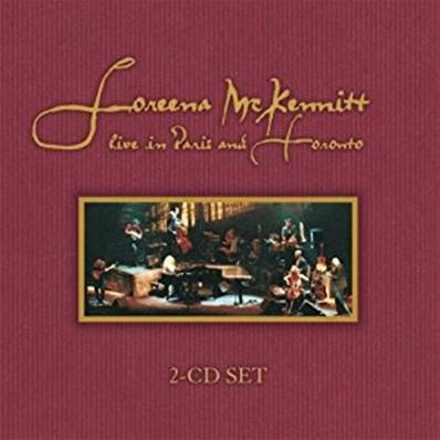 LOREENA MCKENNITT - LIVE IN PARIS AND TOTONTO