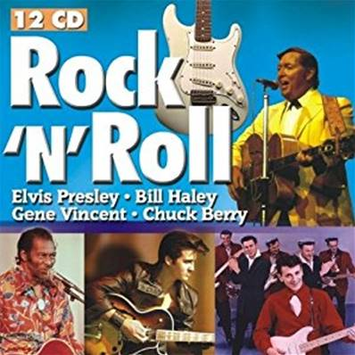 *CD.* ROCK N' ROLL (12 CD) (COMPILATIONS) (ELVIS PRESLEY/BILL HALLEY/GENE VINCENT ...)