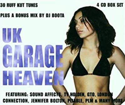 UK GARAGE HEAVEN (COFFRET 4 CD) (ELECTRO)