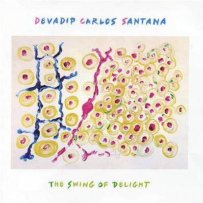 DEVADIP CARLOS SANTANA - THE SWING OF DELIGHT 2XLP (CBC HOLLAND 1980)