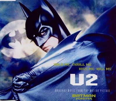 U2 - HOLD ME THRILL ME KISS ME KILL ME (ORIGINAL MUSIC FROM THE MOTION PICTURE